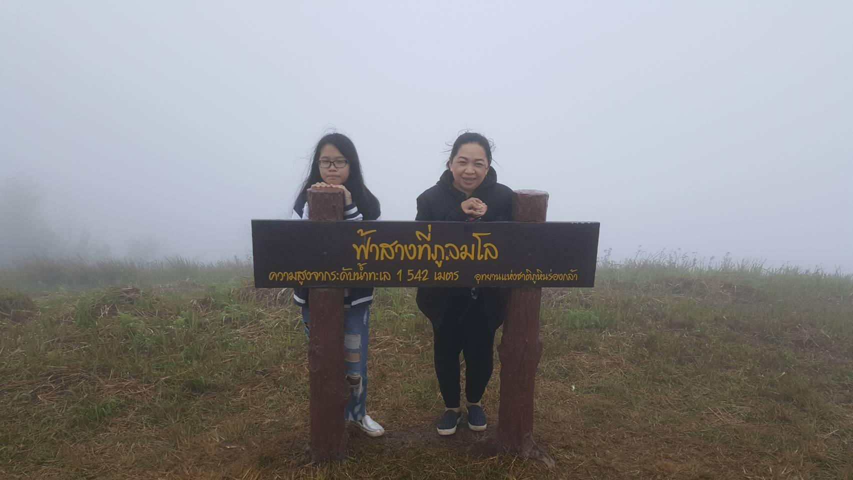 ภูลมโลภูเขาสีชมพู