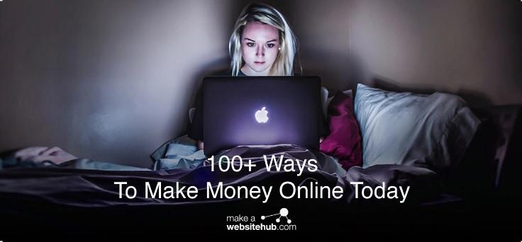100 วิธีหาเงินออนไลน์
